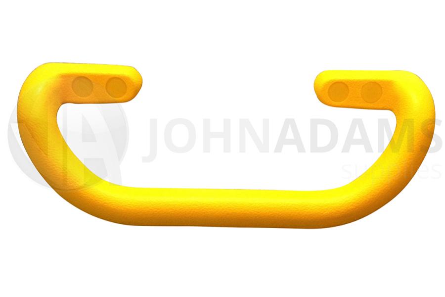Large Steel Core Yellow Grab Pull Handle Trailer Horsebox