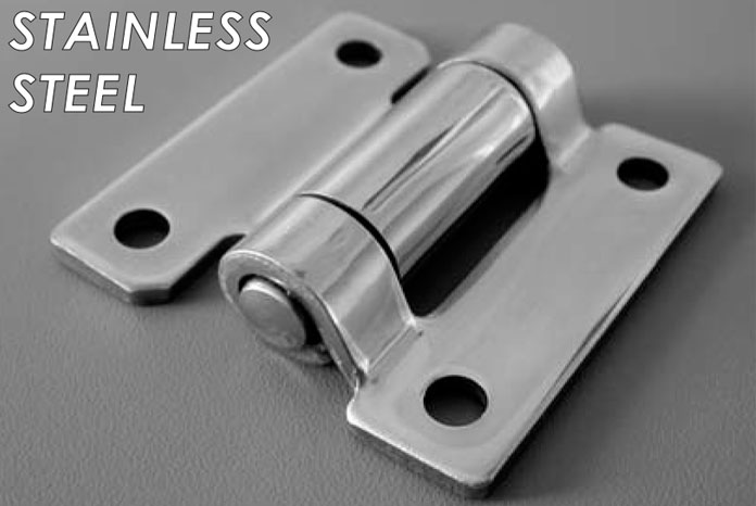 Butterfly Door Hinge Stainless
