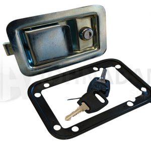Zinc Plated Paddle Lock