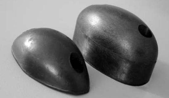 rubber buffers