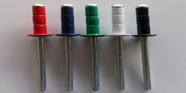 Coloured Rivets
