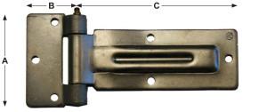 side door hinge