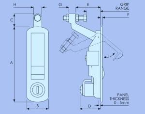 Compression Latch - C2