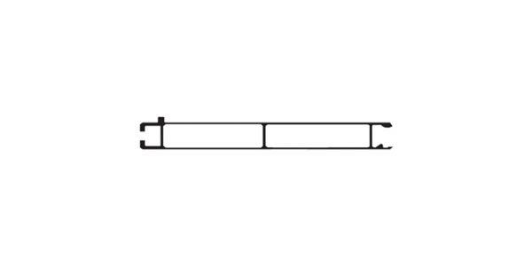 Aluminium bottom plank