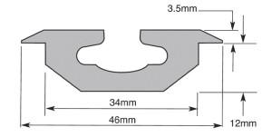 Unwin Low Profile Rail