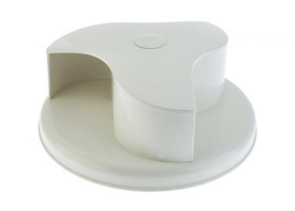 rotary roof vent white