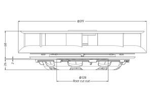 Turbo 2 Van Roof Vent - W