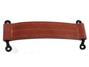 leather check strap